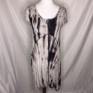 Alya Tie Dye Midi Dress